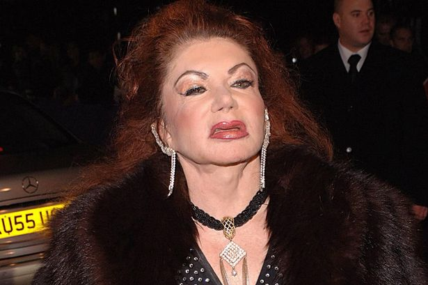 jackie stallone Rambo Actor, Sylvester Stallone Loses Mother Jackie Stallone 0 Jackie Stallone British Comedy Awards 2005