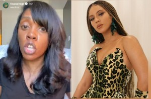 """You cannot ignore this""- Tiwa Savage calls out Beyonce to join the endsars movement (Video) 5ominds 5ominds"