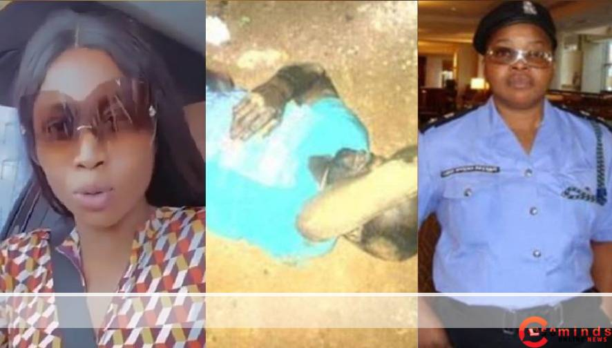 Nigerians dig out Actress Lilian Afegbai police mothers file hours after she blasted people who attacked her for wearing fancy clothes to protest and drinking champagne 5ominds