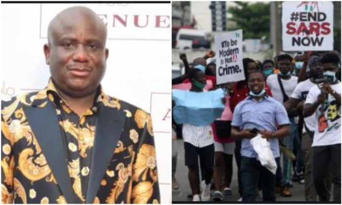 ENDSARS #endsars - ENDSARS 2 - #EndSARS – Billionaire, Taya Waya Tells Protesters What to do
