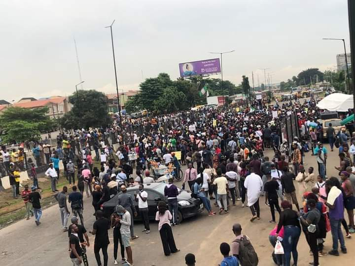 End Sars protest nigeria may shut down internet as #endsars protests continues Nigeria may shut down internet as #EndSARS protests continues FB IMG 1602708100592
