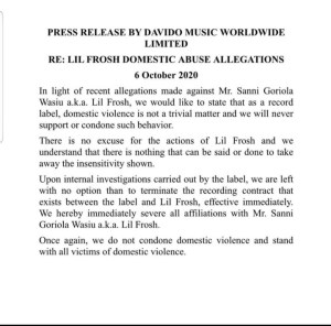 dmw DMW Terminate Contract With Lil Frosh Over Allegations Made Against Him IMG 20201006 170530 226 300x296 dmw DMW Terminate Contract With Lil Frosh Over Allegations Made Against Him IMG 20201006 170530 226