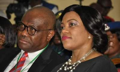 relationship - IMG 20201027 192937 - Relationship: Photo of Wike, Wife, in Law school surfaces online