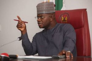Governor Yahaya Bello covid-19: governors received n1billion each from buhari -yahaya bello - images 2020 10 27T103729 - Covid-19: Governors received N1billion each from Buhari -Yahaya Bello covid-19: governors received n1billion each from buhari -yahaya bello - images 2020 10 27T103729 - Covid-19: Governors received N1billion each from Buhari -Yahaya Bello