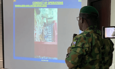 We did not kill anyone; Only a Blank Bullets Was Fired at Lekki Tollgate, says Nigeria Army we did not kill anyone; only a blank bullets was fired at lekki tollgate, says nigeria army - 50minds1234 - We did not kill anyone; Only a Blank Bullets Was Fired at Lekki Tollgate, says Nigeria Army