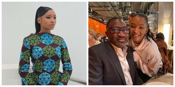 Femi Otedola and Temi Otedola femi otedola - images 21 - Femi Otedola asks his daughter and her boyfriend when they'll get married following her latest post on Instagram