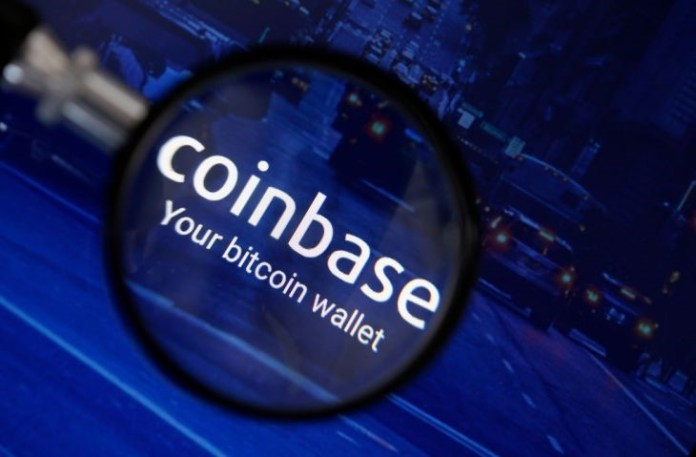 Coinbase records to open up to the world privately and we're advertised coinbase - yy - Coinbase records to open up to the world privately and we're advertised