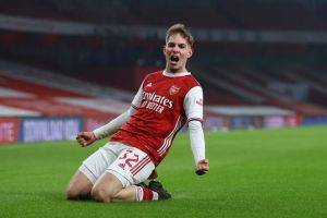 Arsenal youngster, Emile Smith Rowe  - 20210114 154339 300x200 - Football: Arsenal Youngster named FA Cup Player of the round  - 20210114 154339 - Football: Arsenal Youngster named FA Cup Player of the round
