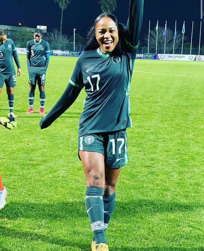 Super falcons Wins Turkish Womes Cups after Beaten Equatorial Guinea 9-0 super falcons - EuvGbkUWYAcdv47 - Super falcons Wins Turkish Women's Cups after Beaten Equatorial Guinea 9-0