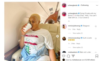 - Screenshot 20210312 124843 1 - Uche Ogbodo, Who ls Expecting Her Second Child, Flaunts Her Baby Bump