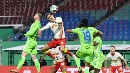wolfsburg knocked out by leipzig in german cup quarters - dfb cup quarter final rb leipzig v vfl wolfsburg 1 7sKePc 300x169 - Wolfsburg knocked out by Leipzig in German Cup quarters