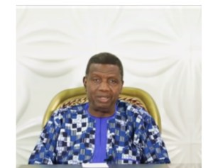 """- Screenshot 20210511 183120 1 300x237 - """"With One Man Down, We Regroup And Go On!"""" Following His Son's Funeral, Pastor E.A Adeboye Talks (video)"""