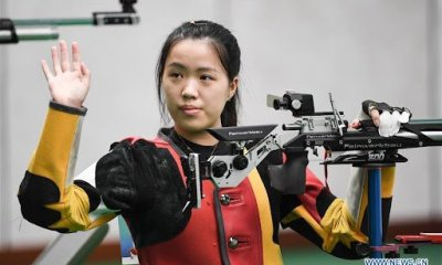 Yang qian wins first gold medal at the tokyo Olympics yang qian - 20210724 062124 - Tokyo 2020: 21-Year-Old Chinese Claims First Gold Medal