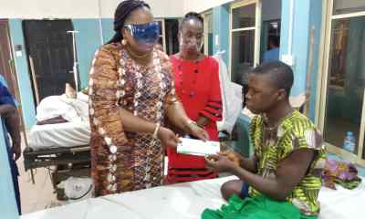 Ogun State Gvt cabinets visits hospitals to celebrate 2nd year anniversary dapo abiodun - IMG 20210719 WA0017 - 2nd Yr Anniversary: Ogun Cabinet Members Put Smile On Faces Of Hospital Patients