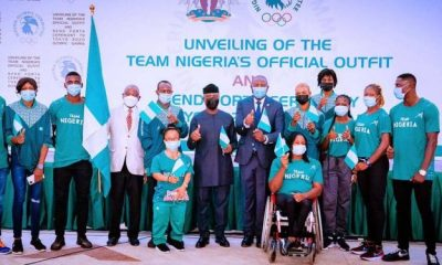 Yemi Osinbajo yemi osinbajo - Yemi Osinbajo - Yemi Osinbajo Unveils Team Nigeria's Official Outfit