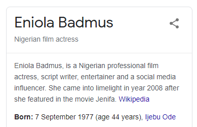 """eniola badmus: """"i am neither 44 nor 40 years old"""" - 344 - Eniola Badmus: """"I am neither 44 nor 40 years old"""""""