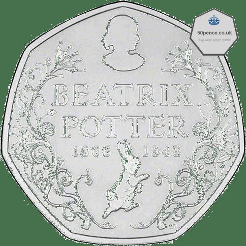 Beatrix Potter 50p