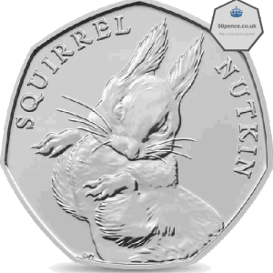 Squirrel Nutkin 50p