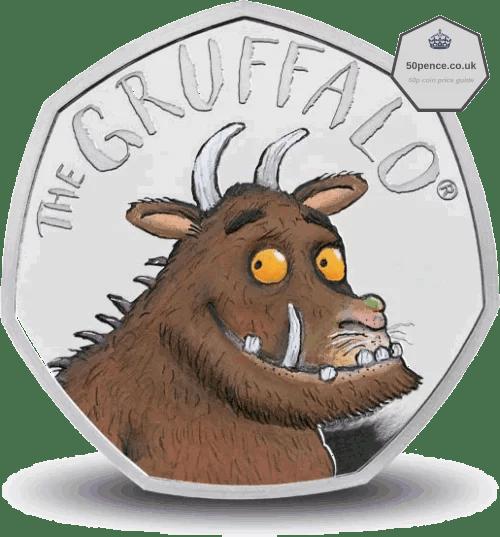 The Gruffalo 50p Silver Proof Coin