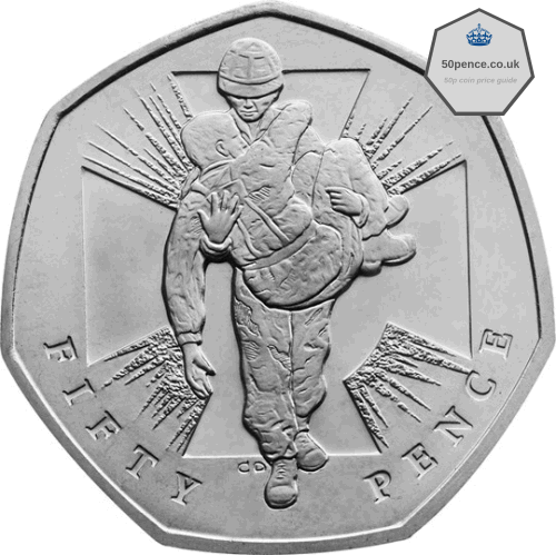 Victoria Cross 50p Heroic Acts