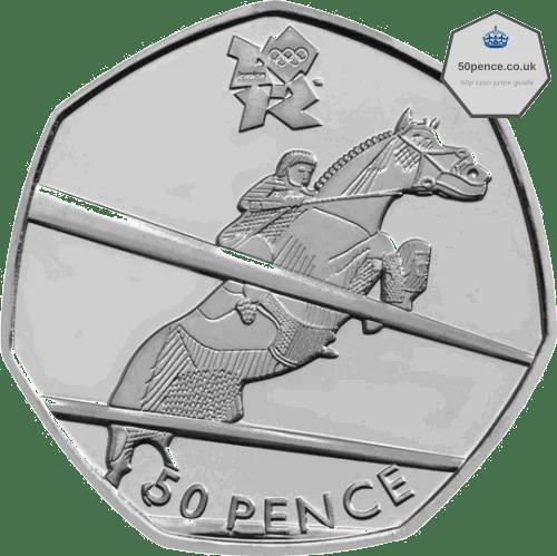 equestrian 50p