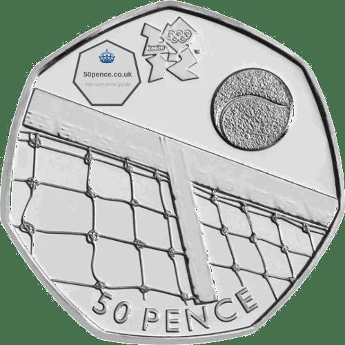 tennis 50p