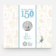 2016 Peter Rabbit 50p BUNC