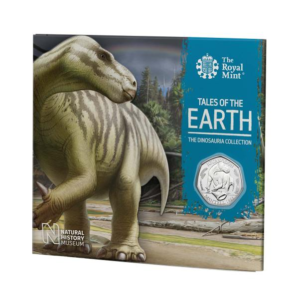 Iguanodon 50p coin pack