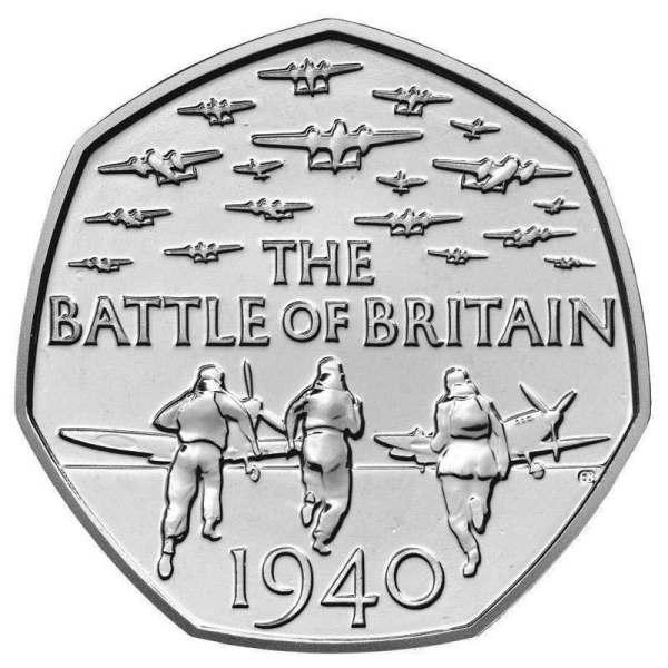 Battle of Britain 50p