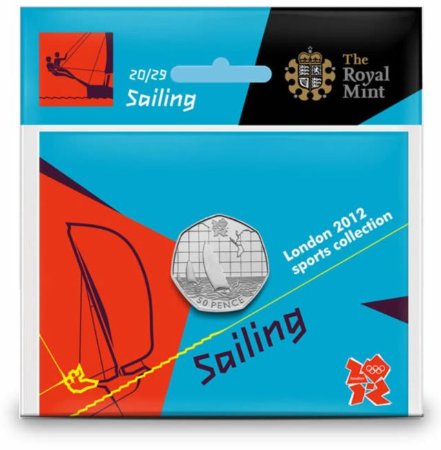 Sailing 50p Coin Pack