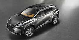 Der LF-NX Concept gibt einen Ausblick auf den neuen Lexus Crossover-SU V.
