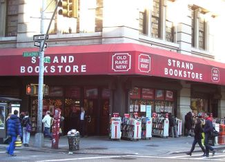 strand bookstore, new york city