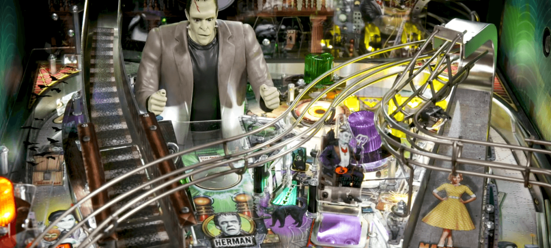 The Munsters Pinball Game