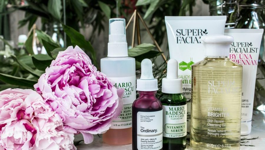 skincare routine serum