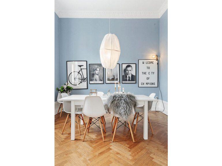 Se presenta sfumature scure meglio optare per pareti chiare: Pareti Colorate 50 Sfumature Di Creativita