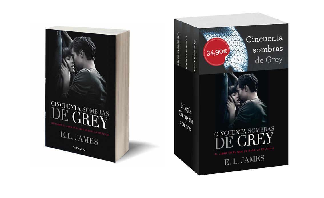 Nuevas Ediciones Especiales: Libro 50 Sombras De Grey Y