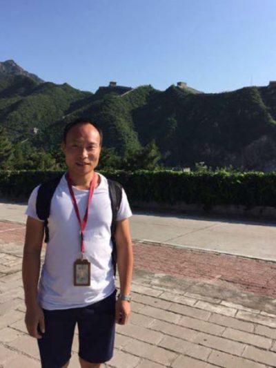 China guide George Pu