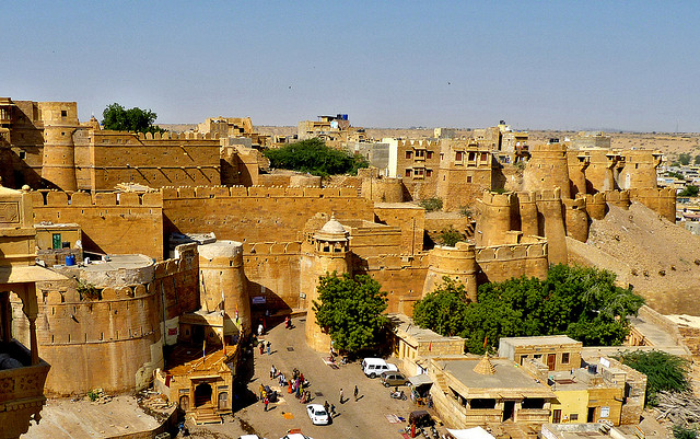 India Jaisalmer fort