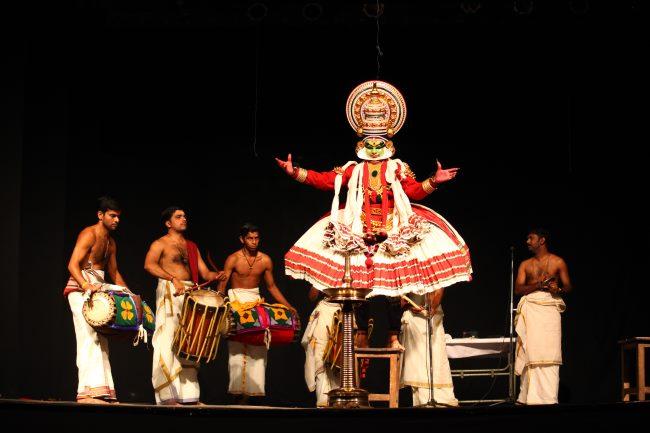 Kathakali dance in India