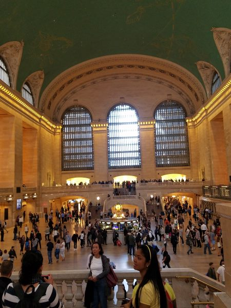 Grand Central Station in 50 hours
