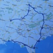 Our Trip Map