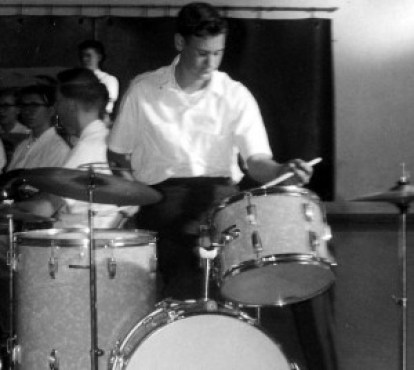 "John ""Chris"" Christensen at Saint Anthony's Boys High School, 1963"