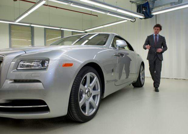 Rolls-Royce Wraith design