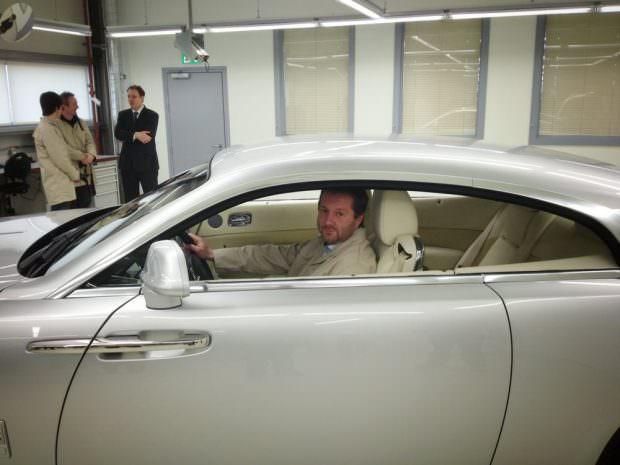 Rolls-Royce Wraith inside