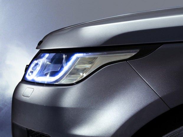 New Range Rover Sport lights