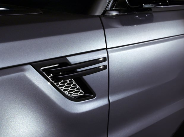 New Range Rover Sport vent