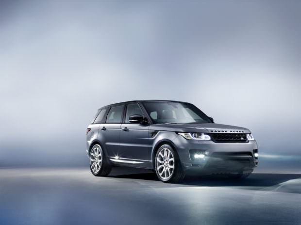 New Range Rover Sport studio