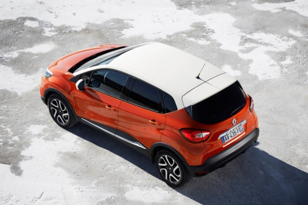 Renault Captur top