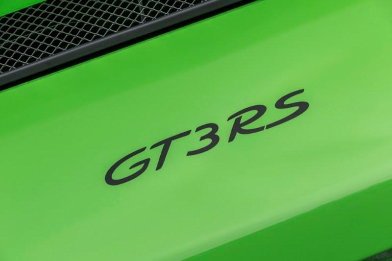 Porsche 911 GT3 RS logo