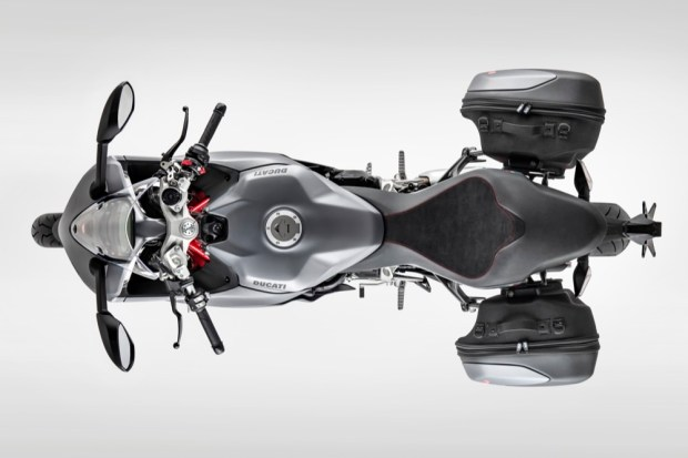 Ducati Supersport top view